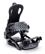 Gnu Street Black 2013 Snowboard Bindings