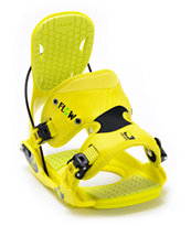 Flow Quattro Lime Green 2013 Snowboard Bindings