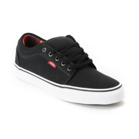 Vans Chukka Low Mexican Blanket Black Canvas Skate Shoe