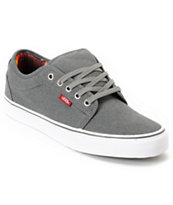 Vans Chukka Low Mexican Blanket Grey Canvas Skate Shoe