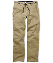 DGK Working Man Khaki Regular Fit Chino Pants