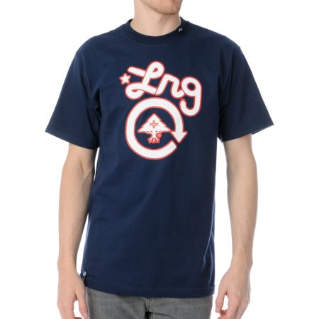 LRG CC One Navy Tee Shirt