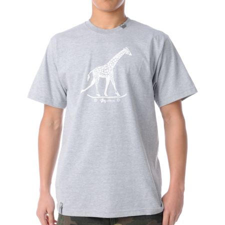 LRG CC Three Heather Grey Tee Shirt