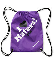 DGK Haters Purple Drawstring Bag