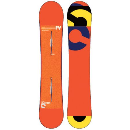 Burton Custom Flying V 158cm Wide Snowboard 2013