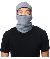 Coal Clava Heather Grey Knit Facemask Beanie