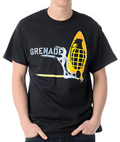 Grenade Match Bomb Black Tee Shirt
