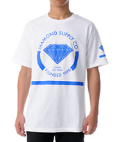 Diamond Supply I Shine You Shine White Tee Shirt