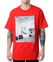 Diamond Supply Gallery Red Tee Shirt