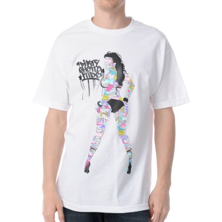 DGK Head To Toe White Tee Shirt