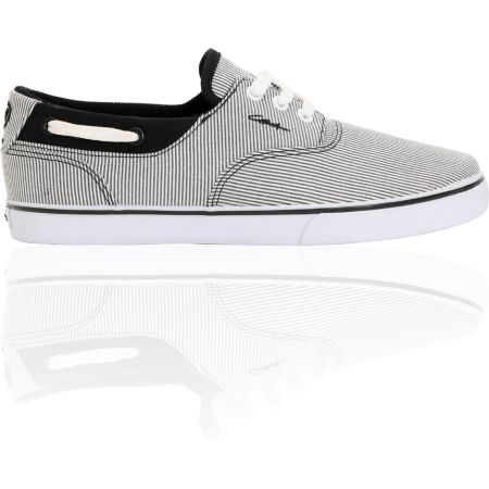 Circa Valeo Black Stripe Canvas Shoe