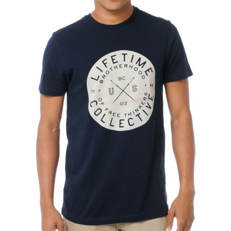 Lifetime Collective Come Together Navy Tee Shirt