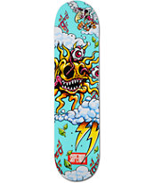 Superior Solar Teal 7.7 Skateboard Deck
