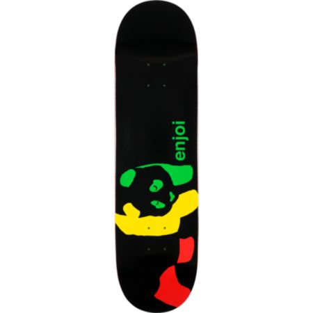 Enjoi Rasta Panda Large 8.4 Skateboard Deck