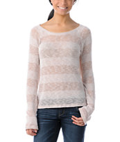 Element Girls Jasmine Dust Stripe Knit Sweater