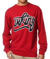 IMKing Captain Red Crew Neck Sweatshirt