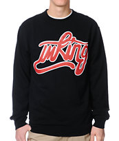 IMKing Captain Black Crew Neck Sweatshirt
