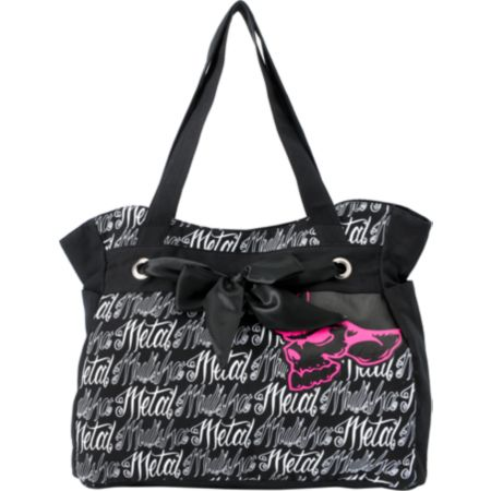 Metal Mulisha Girls Say My Name Black Tote Bag