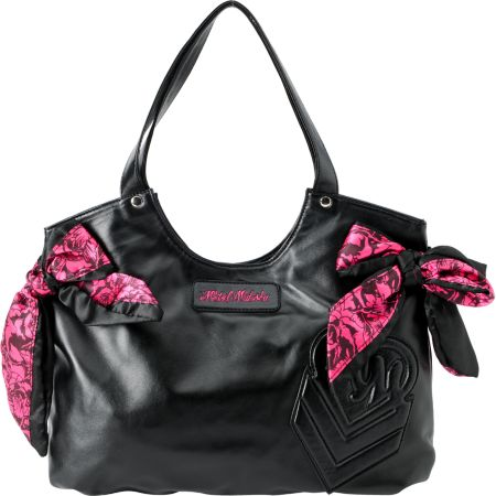 Metal Mulisha Girls Hello Lover Black Purse