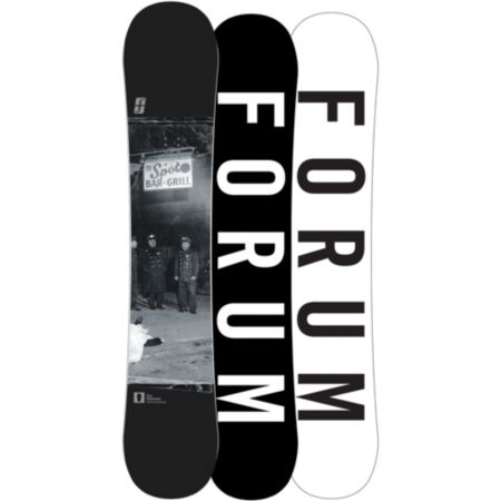 Forum Destroyer Double Dog 154cm Wide Snowboard 2013