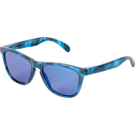 Oakley Frogskins Acid Tortoise Blue Sunglasses