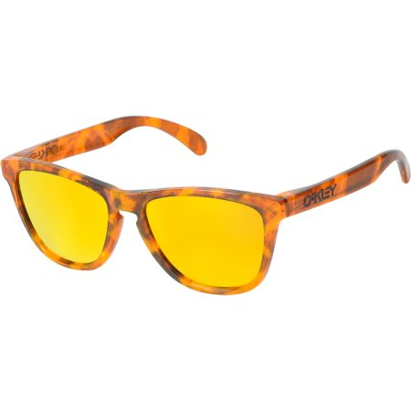 Oakley Frogskins Acid Tortoise Orange Sunglasses