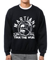 Trukfit Feelin Spacey Black Crew Neck Sweatshirt