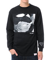 Diamond Supply Rollin Diamonds Black Long Sleeve Tee Shirt