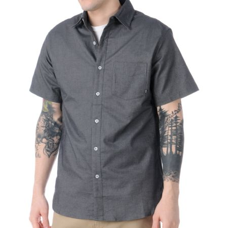 Nike SB Chessboxing Short Sleeve Button Up Shirt