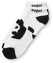 Enjoi Panda Feet Ankle Socks