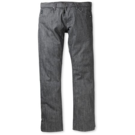 Diamond Supply Skate Life Grey Skinny Jeans
