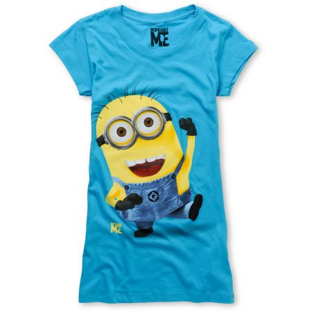 Bitter Sweet Just Dance Despicable Me Turquoise Tee Shirt