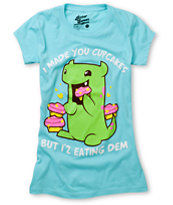 Bitter Sweet Eating Dem Teal Tee Shirt