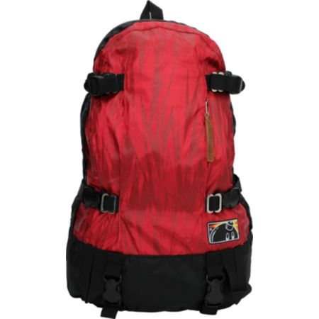 The Hundreds Tilden Burgundy Red Backpack