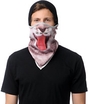 Neff Kitten Grey Face Mask Bandana