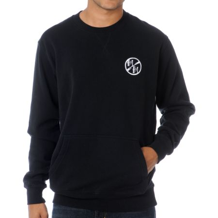 Metal Mulisha Faulter Black Crew Neck Sweatshirt