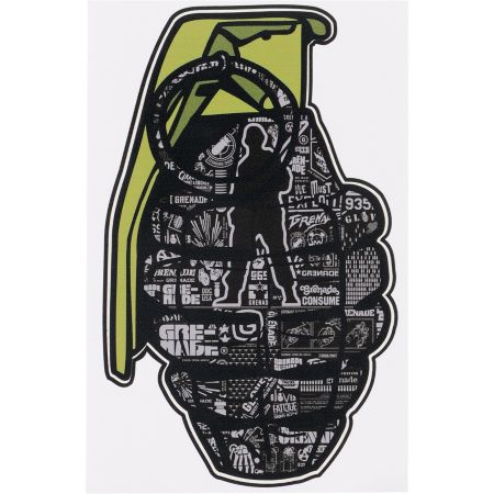 Grenade Logo Printed Die Cut Sticker