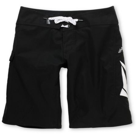Volcom Girls Foster Gals 10 Black Board Shorts