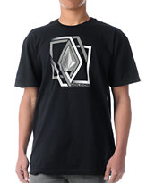 Volcom Illusion Black Tee Shirt