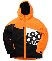 686 Boys Mannual Iconic Insulated Orange 5K Snowboard Jacket