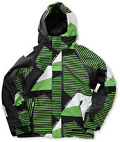 686 Boys Mannual Mix Grass 5K Insulated Snowboard Jacket