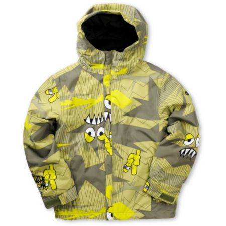 686 Boys Camotooth 5K Snowboard Jacket