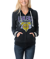 NBA Mitchell and Ness LA Lakers Vintage Hoodie