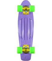 Penny Skateboards Purple, Yellow, & Green 22.5 x 6 Penny Cruiser Complete