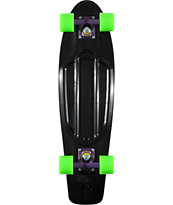 Penny Nickel Black, Purple & Green Cruiser Complete Skateboard