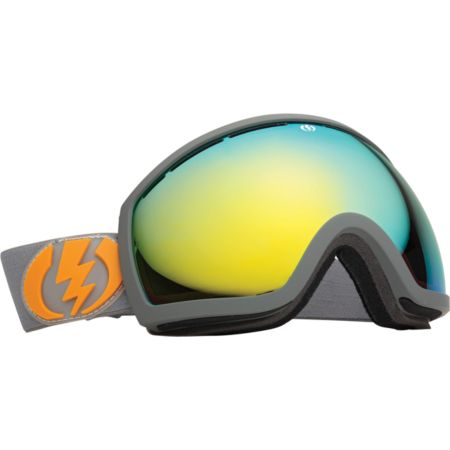 Electric EG2 Panzer Grey 2013 Grey & Gold Snowboard Goggles