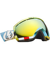 Electric EG2.5 Tank & Gold Chrome 2013 Snowboard Goggles