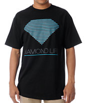 Diamond Supply Retro Black Tee Shirt