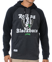 Local Legends Blackout Charcoal & Black Pullover Hoodie
