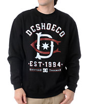 DC Dyrdek Throwback Black Crew Neck Sweatshirt
